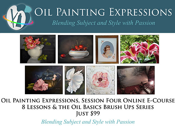 Oil Painting Expressions Session Four